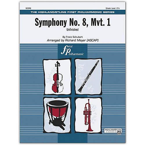 Alfred Symphony No. 8, Mvt. 1 Conductor Score 2.5
