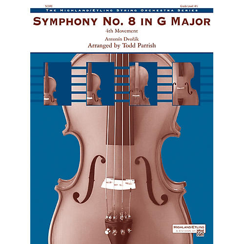 Alfred Symphony No. 8 in G Major String Orchestra Grade 4.5 Set