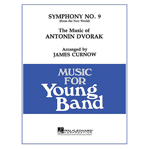 Hal Leonard Symphony No. 9: New World - Young Concert Band Level 3 arranged by James Curnow
