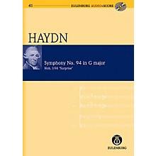 Eulenburg Symphony No. 94 in G Major (Surprise Symphony) Hob. I:94 London No. 3 Eulenberg Audio plus Score by Haydn