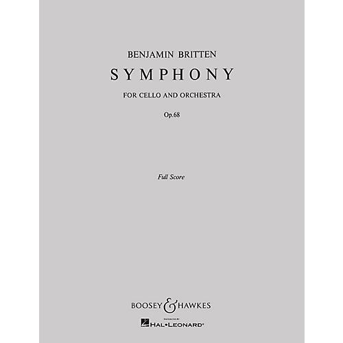 Boosey and Hawkes Symphony, Op. 68 (for Cello and Orchestra) Boosey & Hawkes Scores/Books Series by Benjamin Britten