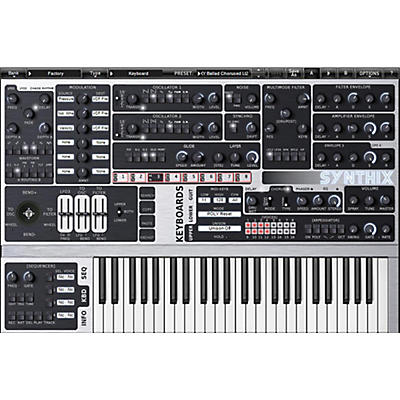 XILS lab Syn'X Multilayer Analog Synthesizer Software Download