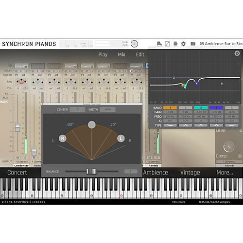 Vienna Instruments Synchron Bluthner 1895 Upgrade to Full Library (Download)