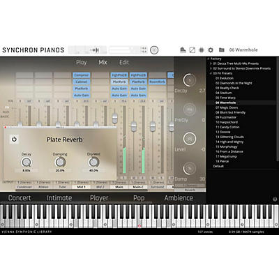 Vienna Instruments Synchron Pianos Bundle Standard Library (Download)