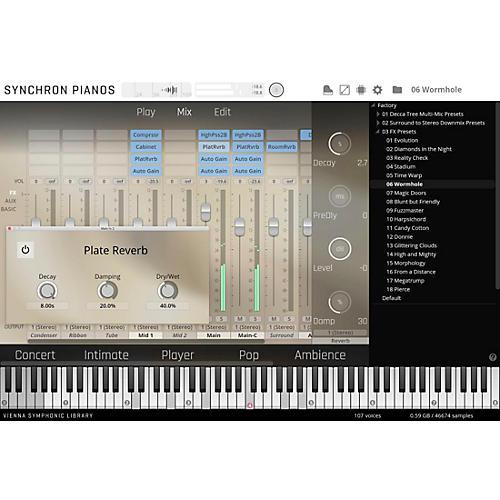 Vienna Instruments Synchron Pianos Bundle Standard Library (Download)