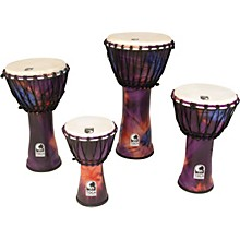 Synergy Freestyle Rope Tuned Djembe 12 in. Purple