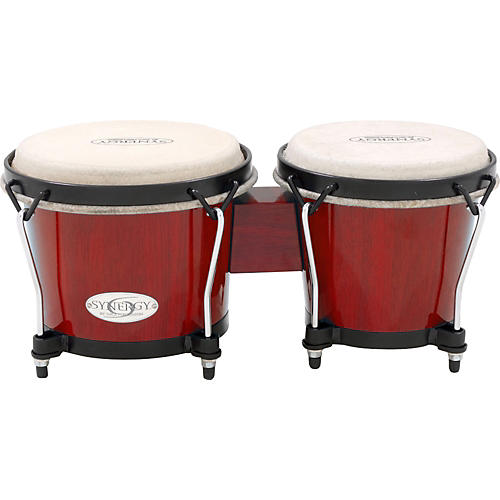 Toca Synergy Series Bongo Set Condition 1 - Mint Red
