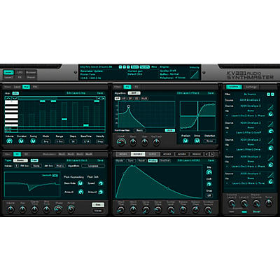 KV331 Audio SynthMaster 1+2 Bundle Upgrade From SynthMaster Player
