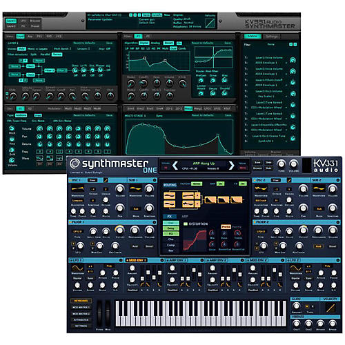 KV331 Audio SynthMaster 1+2 Bundle