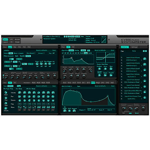 KV331 Audio SynthMaster 2 Upgrade From SynthMaster Player