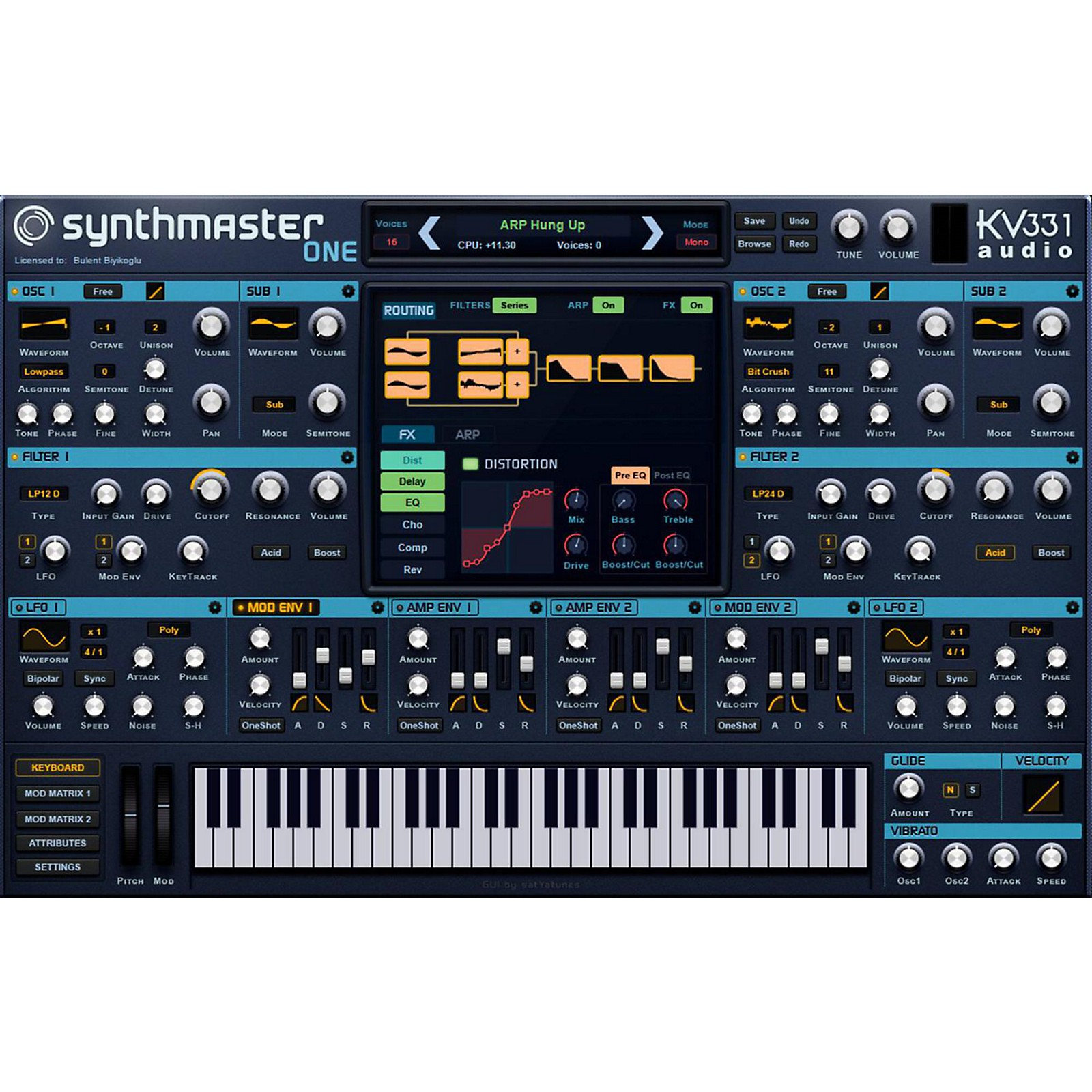 KV331 Audio SynthMaster One