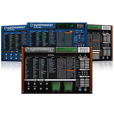 KV331 Audio SynthMaster Player Software Download