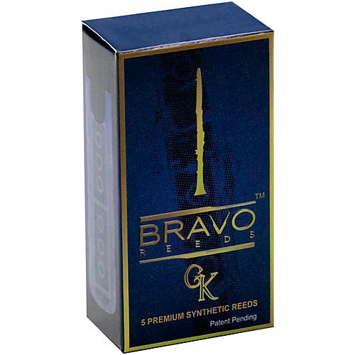 Bravo Reeds Synthetic Clarinet Reed 5 Pack 2