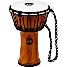 Synthetic Compact Junior Djembe Twisted Amber