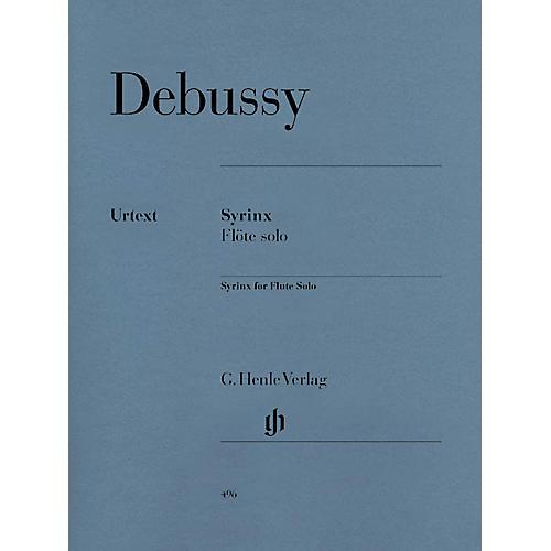 G. Henle Verlag Syrinx (La flûte de Pan) for Solo Flute Henle Music Folios Series Softcover