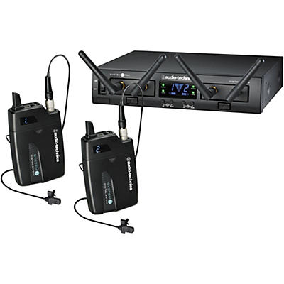Audio-Technica System 10 Pro ATW-1311/L Dual Lavalier System