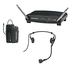 audio technica system 8 wireless system includes pro 8hecw headworn microphone musician 39 s friend. Black Bedroom Furniture Sets. Home Design Ideas