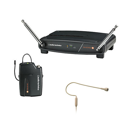 Audio-Technica System 8 Wireless System includes: PRO 92cW-TH headworn microphone