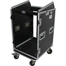 ProX T-16MRSS 16U Rack x 10U Top Mixer DJ Combo Flight Case