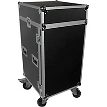 ProX T-18MRSS 18U Rack x 10U Top Mixer DJ Combo ATA Flight Case