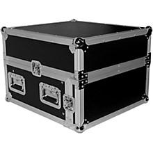 Open BoxProX T-4MRSS 4U Rack x 10U Top Mixer DJ Combo Flight Road Case