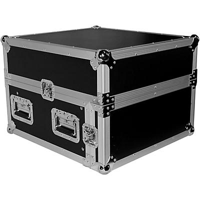 ProX T-4MRSS 4U Rack x 10U Top Mixer DJ Combo Flight Road Case