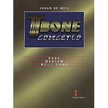 Amstel Music T-Bone Concerto (Full Score) Concert Band Level 5-6 Composed by Johan de Meij