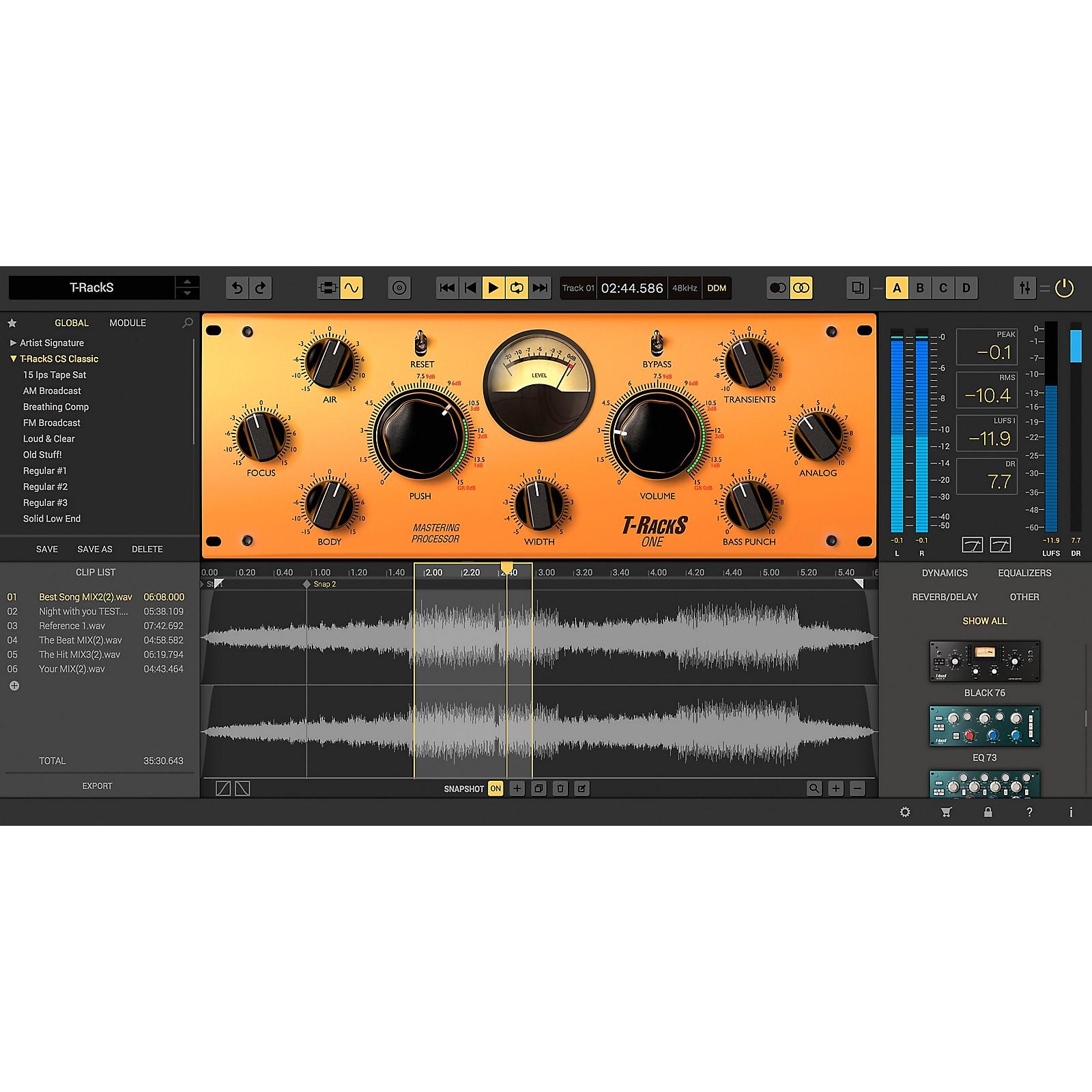IK Multimedia T-RackS 5 Deluxe Edition