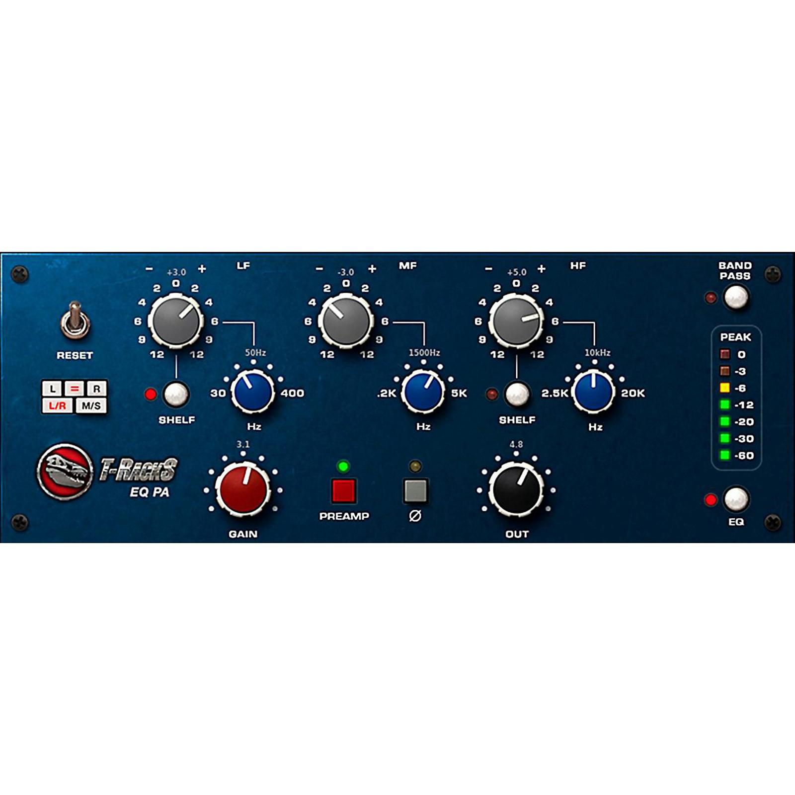 IK Multimedia T-RackS EQ PA Software Download