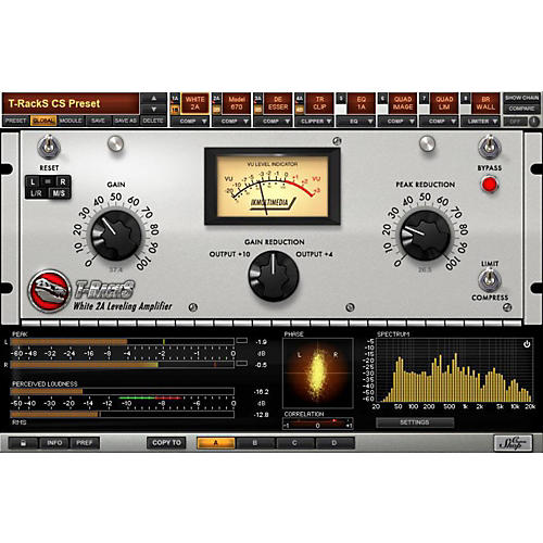t racks mastering software free download