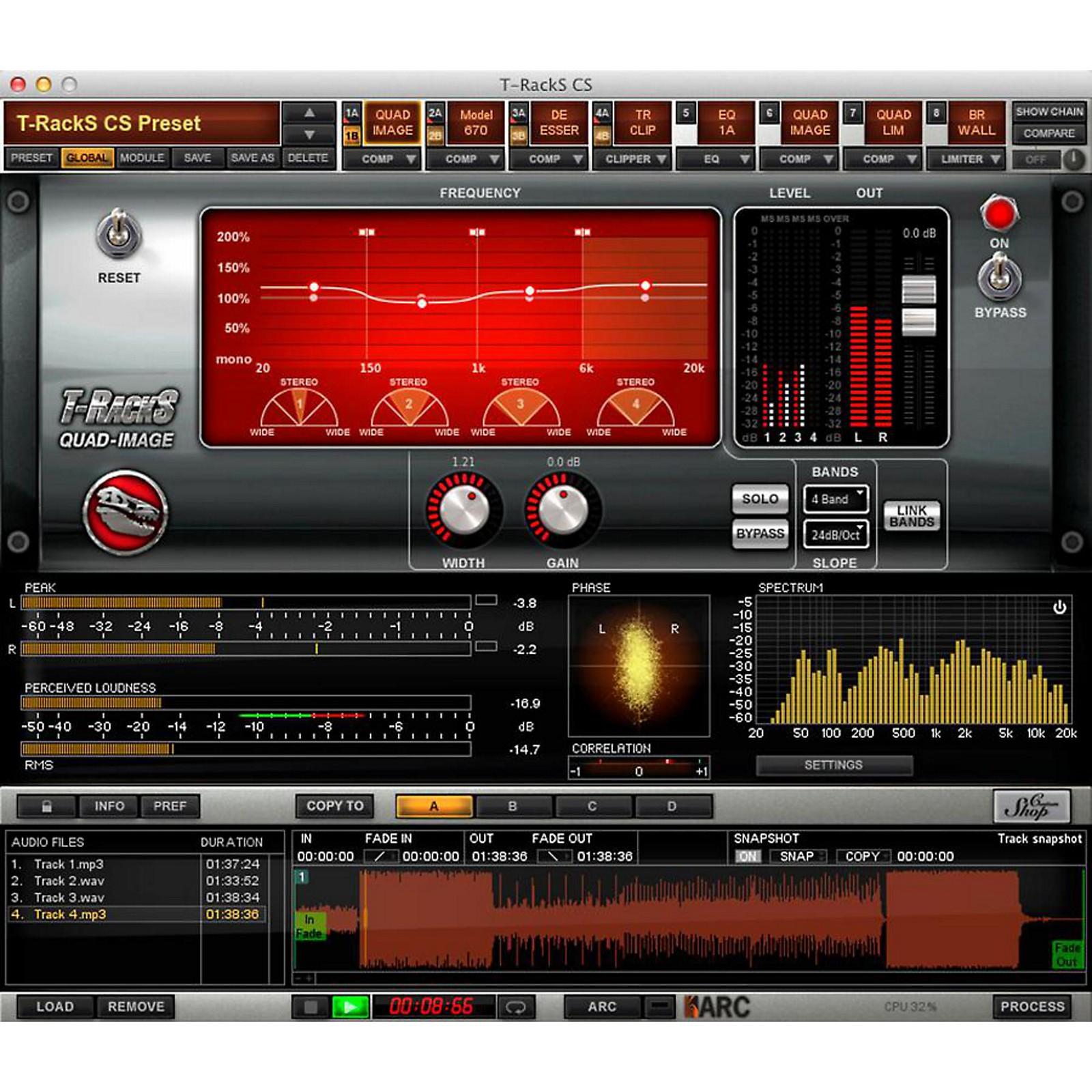 IK Multimedia T-RackS Multi-Band Series Software Download