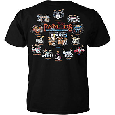 """Taboo T-Shirt """"Famous Drum Sets"""""""
