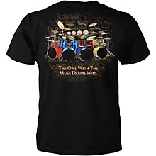 "Taboo T-Shirt ""The Most Drums Win"""