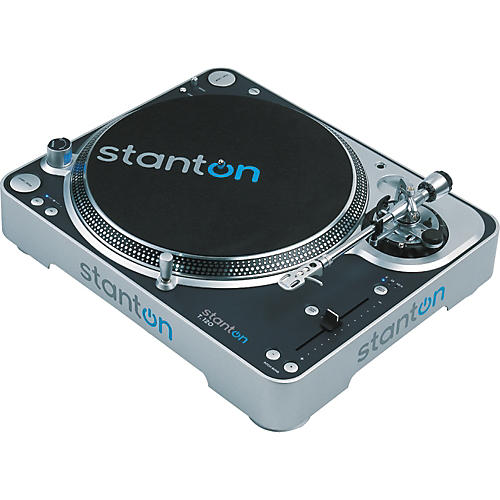Stanton T.120 Super High Torque Direct Drive Turntable with Straight Tone Arm