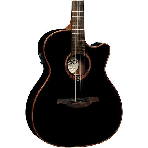 Lag Guitars T100ACE Auditorium Cutaway Acoustic-Electric Guitar