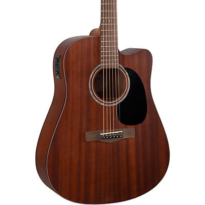 Mitchell T231CE Mahogany Dreadnought Acoustic-Electric Cutaway Guitar
