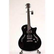 Open BoxTaylor T3 Flame Black Semi-Hollowbody Electric Guitar