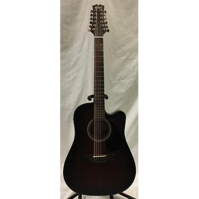 Mitchell T331TCE 12 String Acoustic Electric Guitar