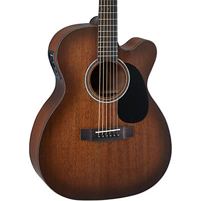 Mitchell T333CE-BST Solid Top Mahogany Auditorium Acoustic-Electric Guitar
