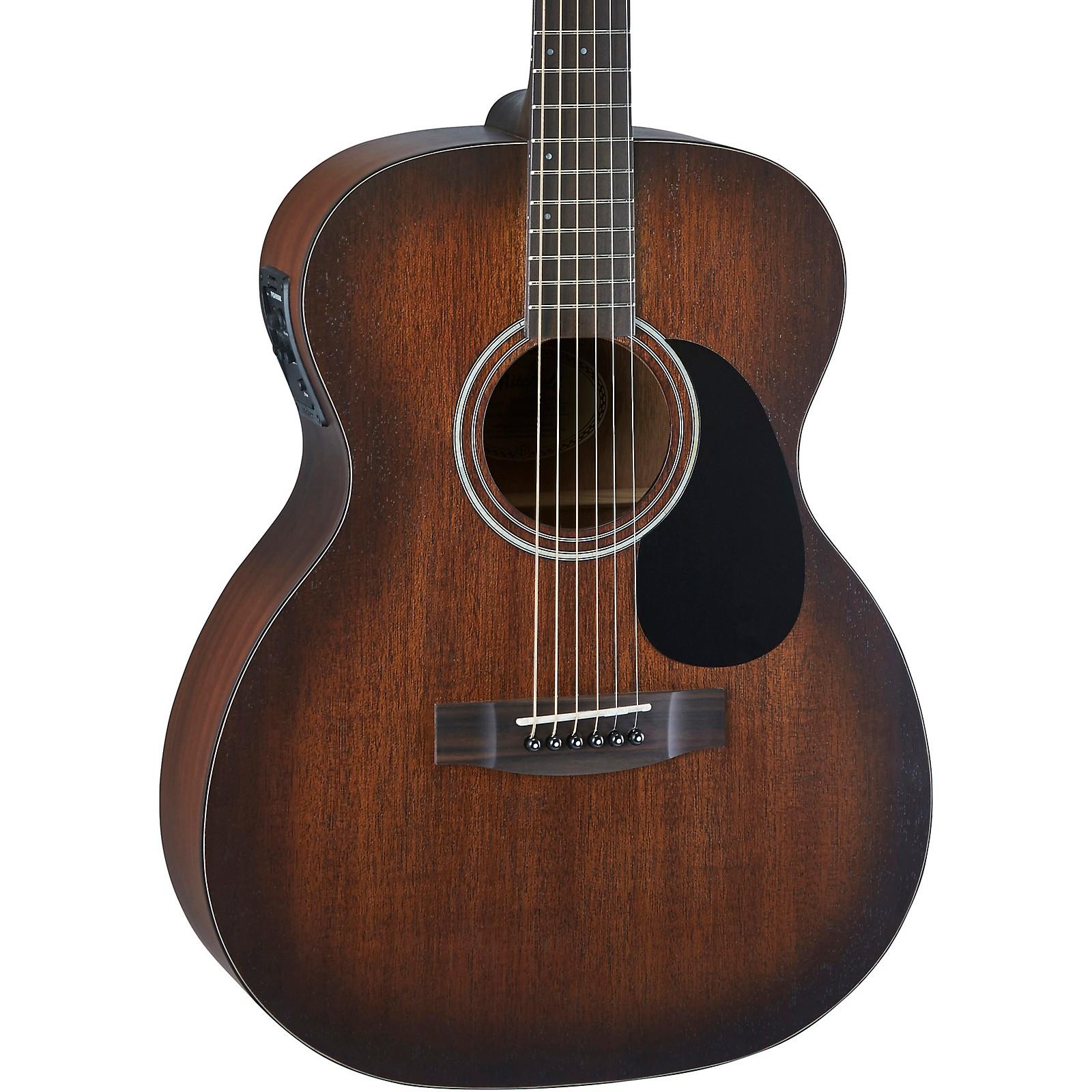 Mitchell T333E-BST Solid Mahogany Auditorium Acoustic-Electric Guitar