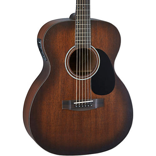 Mitchell T333E-BST Solid Mahogany Auditorium Acoustic-Electric Guitar Edge Burst