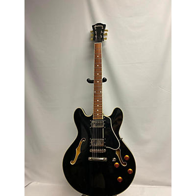 Eastman T386BK Hollow Body Electric Guitar