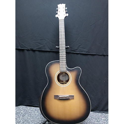 Mitchell T413CEBST Acoustic Electric Guitar Mahogany