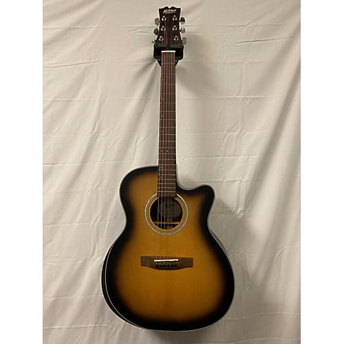 Mitchell T413CEBST Acoustic Electric Guitar Burst