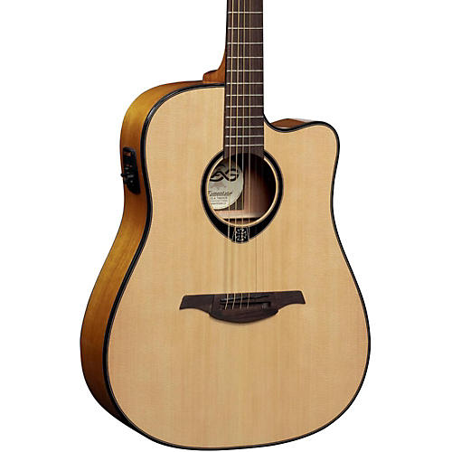 Lag Guitars T66DCE Dreadnought Cutaway Acoustic-Electric Guitar