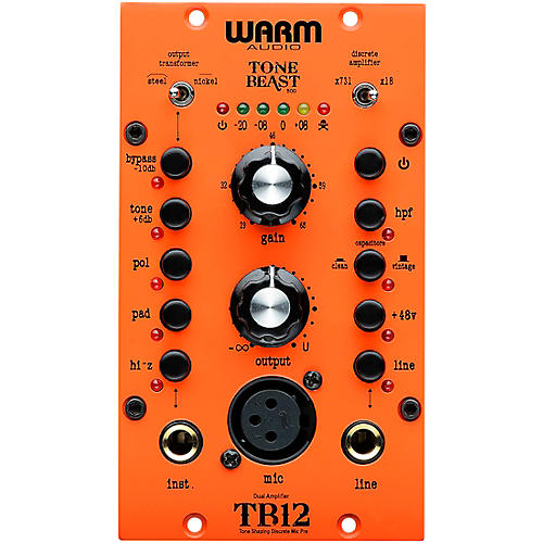 Warm Audio TB12-500 Tone Beast 500 Series Microphone Preamp