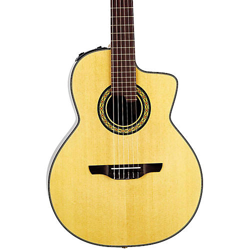 Takamine TC135SC Classical 24-Fret Cutaway Acoustic-Electric Guitar Condition 1 - Mint Natural