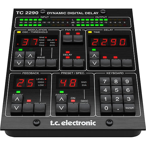 TC Electronic TC2290-DT Dynamic Delay Plug-in with Dedicated Hardware Interface