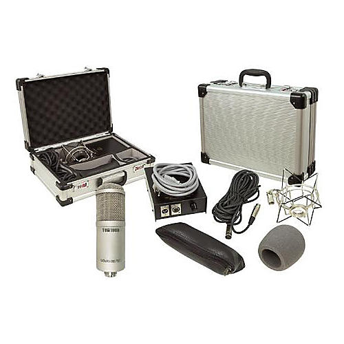 Nady TCM1050 Tube Condenser Microphone with Flight Case