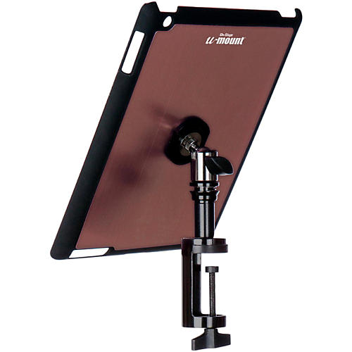 On-Stage TCM9163 Quick Disconnect Table Edge Tablet Mounting System with Snap-On Cover Muave
